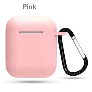 Accessories - NWOT Pink Silicone AirPod Case